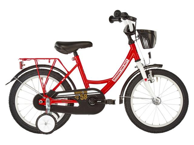 "Vermont Fire Department - Bicicletas para niños - 12"" rojo/blanco"